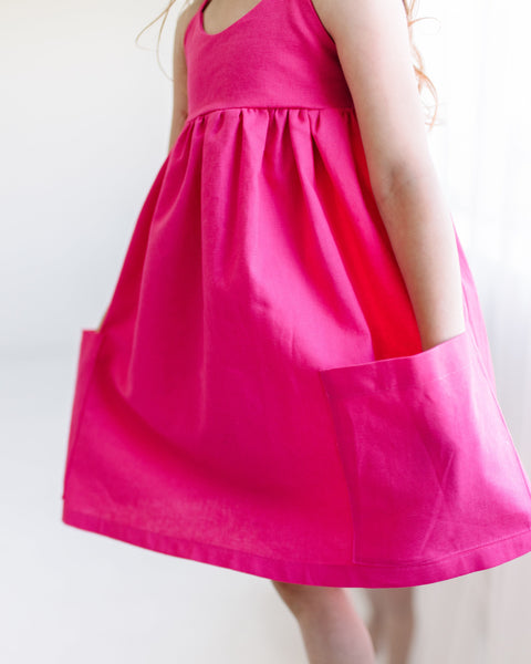 MADE TO ORDER- Peony Pink Dress
