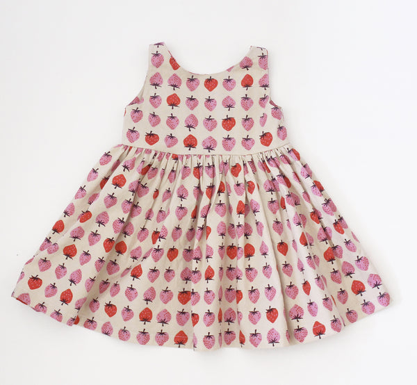 READY TO SHIP- Berry Bloom Dress