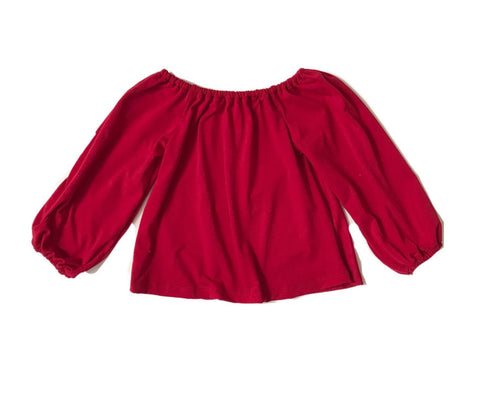 Smock Top in Red