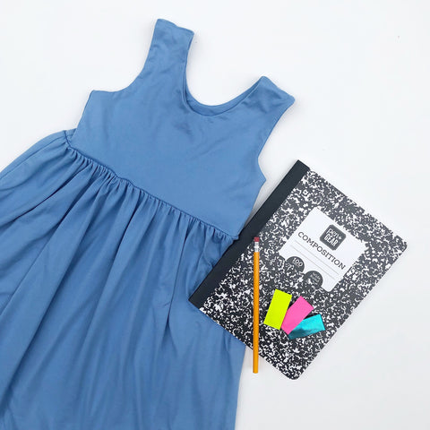 Blue Book Racerback Dress