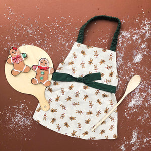 Kids Apron-Gingerbread