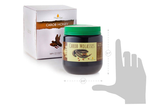 100% Pure Organic Carob Molasses 360g |12.6oz