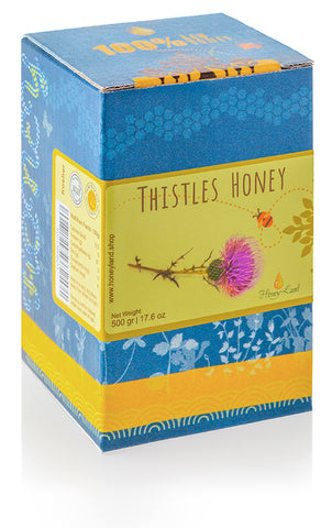 Thistle Flowers Honey 500gr/17.5 oz