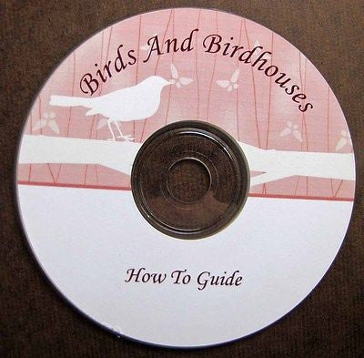 Vintage Guide To Birds and Birdhouses On CD