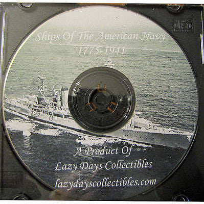 Ships of The American Navy On CD