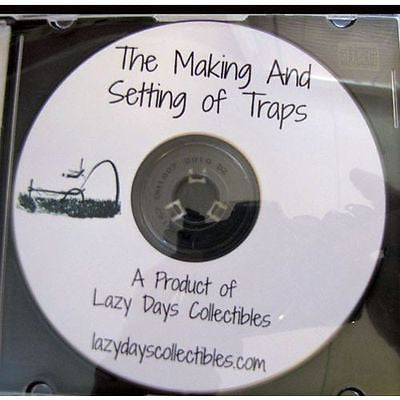 VINTAGE BOOK OF MAKING AND SETTING OF TRAPS ON CD