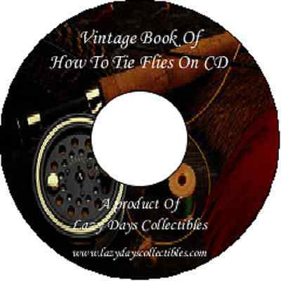 The Vintage Book Of How to Tie Flies On CD