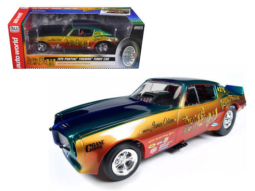1970 Pontiac Firebird Don Gay NHRA Funny Car 1/18 Diecast Model Car by Autoworld