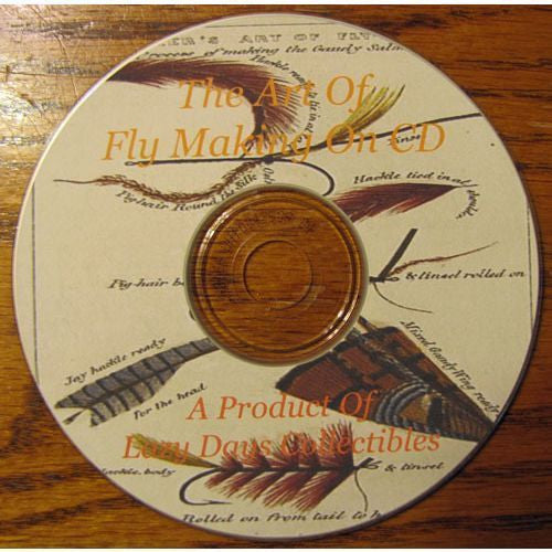 Vintage Book Of The Art Of Fly Tying On CD
