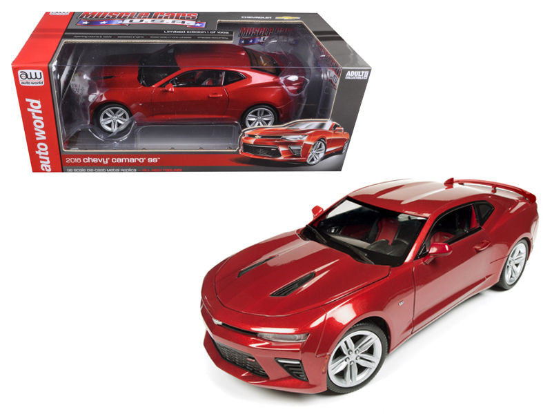 2016 Chevrolet Camaro SS Garnet Red Limited Edition to 1002pc 1/18 Diecast