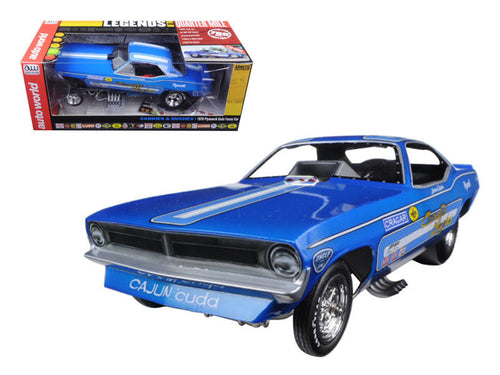 Candies & Hughes'70 Plymouth Cuda Funny Car Limited Edition Diecast