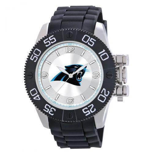 Officially Licensed Mens Carolina Panthers Logo Watch