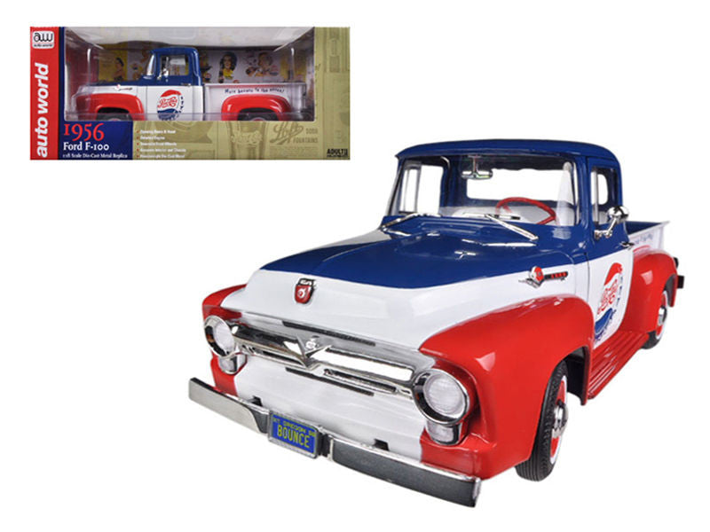 1956 Ford  Truck F-100 Pepsi Cola Limited to 1250 pc Worldwide 1/18 Diecast