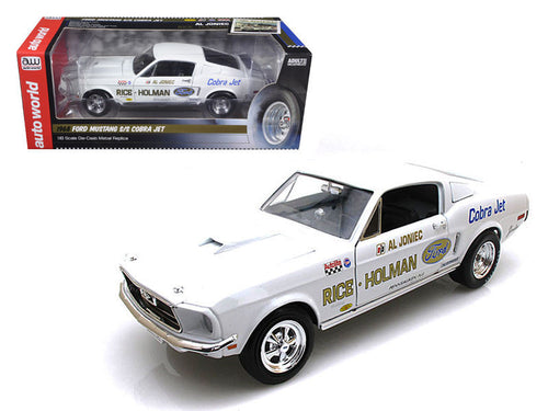 1968 Al Joniec's Ford Mustang Super Stock Eliminator 1/18 Diecast Model Car
