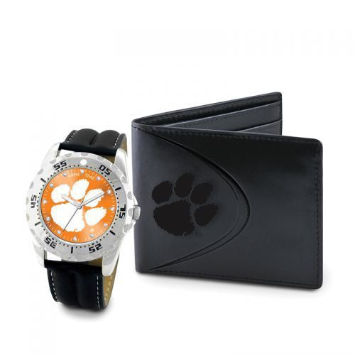 Clemson Tigers Watch and Wallet Set