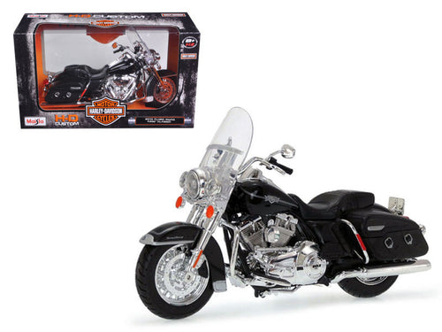 1/12 Scale 2013 Harley Davidson FLHRC Road King Classic Black Bike