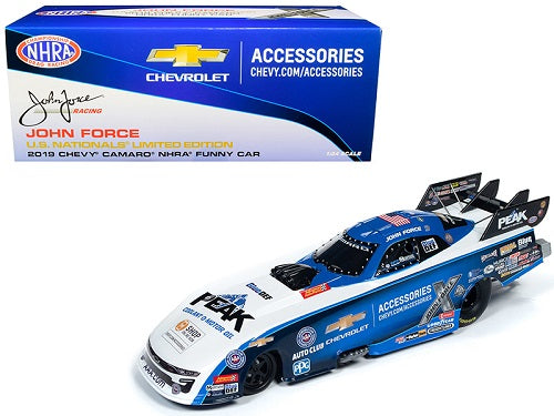 2019 Peak Chevrolet Camaro NHRA Funny Car John Force U.S. Nationals Limited Edition