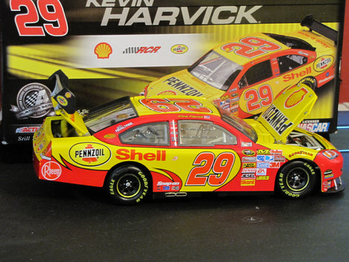 Kevin Harvick 1:24 Scale #29 Shell 2008 Impala SS Diecast 1 Of 1200