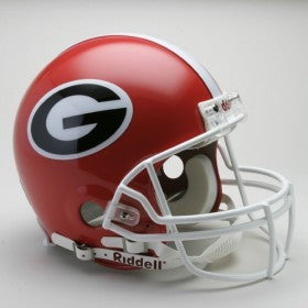 Georgia Bulldogs Helmet Riddell Authentic Full Size VSR4 Style