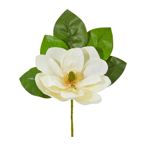"18"" Magnolia Artificial Flower (Set Of 6)"
