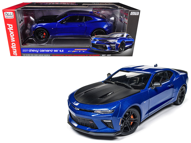 2017 Chevrolet Camaro SS 1LE 50th Anniversary Limited Edition to 1002pc 1/18 Diecast Model Car by Autoworld