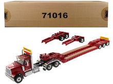 International HX520 Tandem Tractor with XL 120 Lowboy Trailer 1/50 Diecast Model by Diecast Masters Available in 3 Different Colors