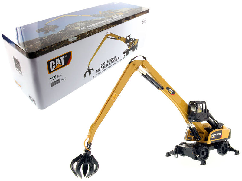 CAT Caterpillar 3049 Material Handler High Line Series with Operator 1/50 Diecast Model by Diecast Masters