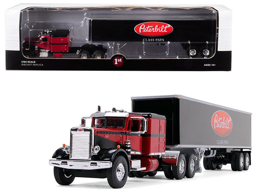 Peterbilt 351 Sleeper Cab with 40' Vintage Trailer