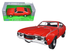 1968 Oldsmobile 442 1/24 Diecast Model Car by Welly