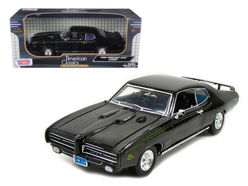 1969 Pontiac GTO Judge 1/18 Diecast Car Model by Motormax Available in Three Colors
