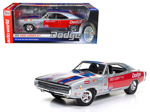 1970 Dodge Charger R/T 426 HEMI Dick Landy Limited Edition to 1002pcs 1/18 Diecast Model Car by Autoworl