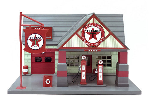 Texaco 1940 Service Gas Station Diorama 1/32 by Beyond Infinity