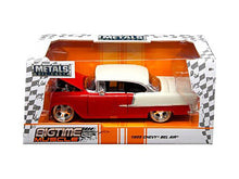 "1955 Chevrolet Bel Air Red or Blue ""Bigtime Muscle"" 1/24 Diecast Model Car by Jada"