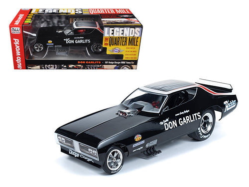 1971 Dodge Charger Don Garlits NHRA Funny Car 1/18 Model Car by Autoworld