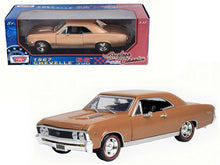 1967 Chevrolet Chevelle SS 396  1/18 Diecast Model Car by Motormax Available In 2 Colors