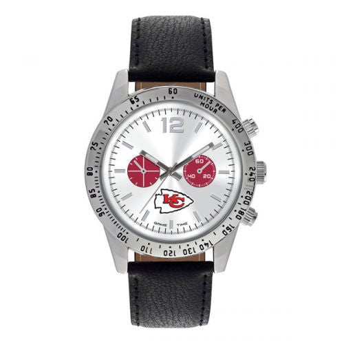 Men's Officially Licensed Kansas City Chiefs Logo and Colors Watch