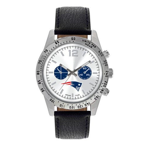 Officially Licensed New England Patriots Logo and Colors Watch
