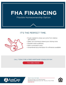 FHA Financing Flyer (FREE DOWNLOAD)