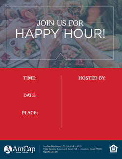 Happy Hour Flyer (FREE DOWNLOAD)