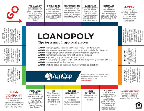 AmCap Loanopoly Flyer (FREE DOWNLOAD)