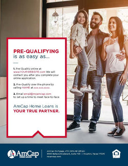 AmCap Pre-Qualification Flyer