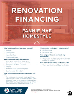 AMCAP Homestyle Flyer (FREE DOWNLOAD)