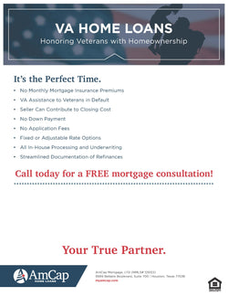 AmCap VA Loans Flyer (FREE DOWNLOAD)