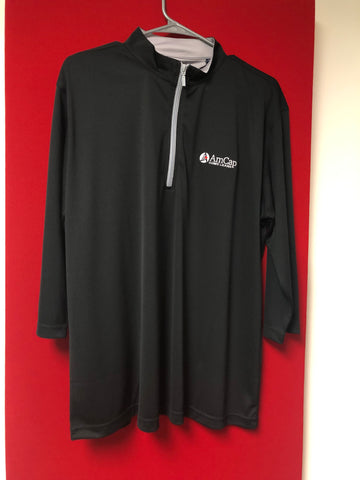 Black Men's Long-sleeved Pull-Over