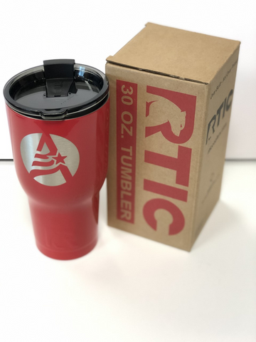 Red Rtic Tumbler