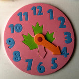 Clock Learning Educational Toy