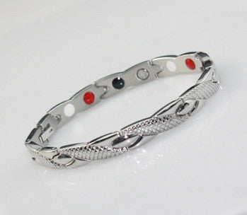 Stainless Steel Energy Bracelet