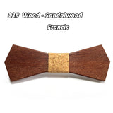 Wooden Bow Tie For Men