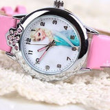 Cartoon Children Frozen Watch