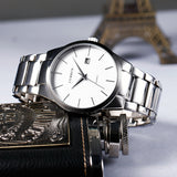 Luxury Brand  Analog Watch With Display Date